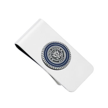 Chronomatic USN Seal Logo Money Clip