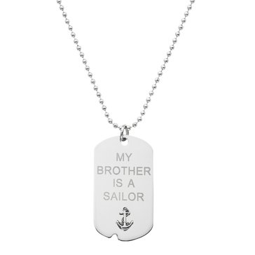 Chronomatic My Brother Is A Sailor Dog Tag