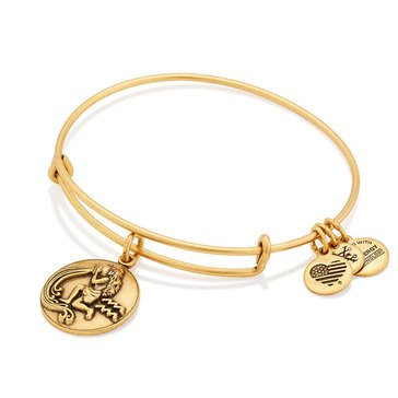 Alex and Ani Aquarius Expandable Bangle, Gold Finish