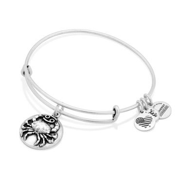 Alex and Ani Cancer III Bangle