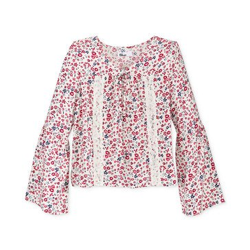 Epic Threads Big Girls' Floral Peasant Top