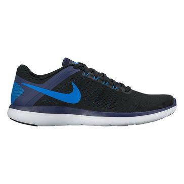 Nike Flex 2016 RN Men's Running Shoe Black/ Soar/ Binary Blue/ White