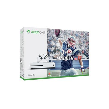 Xbox One 1TB Madden 17 Console Bundle