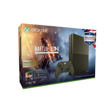 XBOX ONE 1TB Battlefield 1 Console Bundle