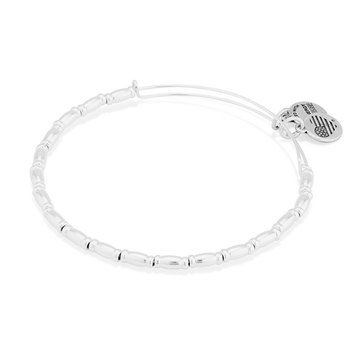 Alex and Ani Reed Expandable Bangle, Silver Finish