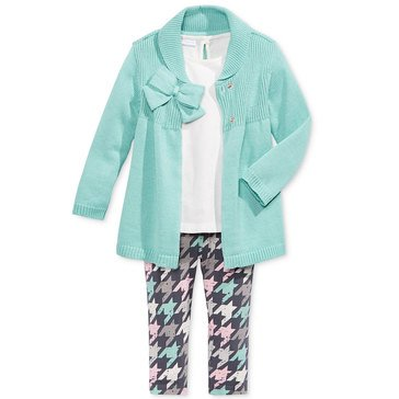 First Impressions Baby Girls' 3-Piece Cardigan Set