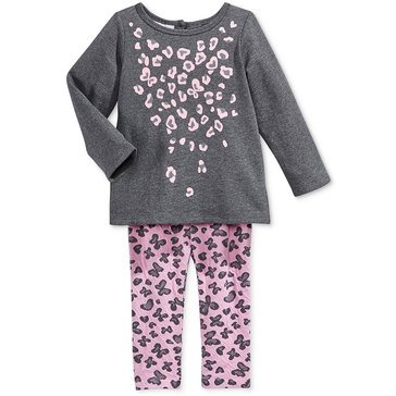 First Impressions Baby Girls' Peplum Set