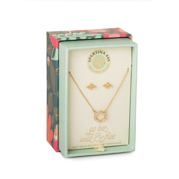Spartina 449 Necklace & Earring Set Bee