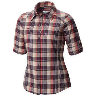 Columbia Women's Silver Ridge Plaid Long Sleeve Shirt