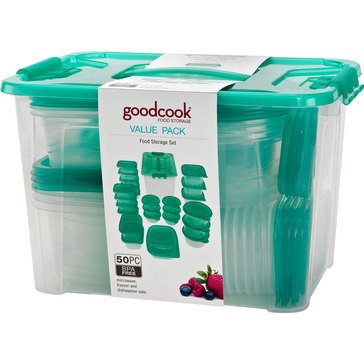 Good Cooks 50-Piece Food Storage Value Pack