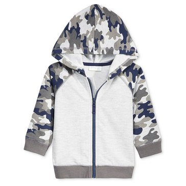 First Impressions Baby Boys' Hoodie, Camo