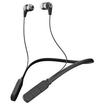 Skullcandy INK'D 2.0 Wireless Bluetooth In-Ear Headphones - Black/Gray/Gray