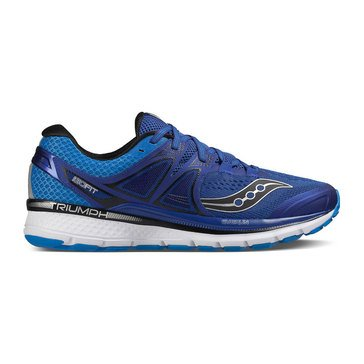 Saucony Triumph ISO 3 (Wide) Men's Running Shoe Blue/ Silver