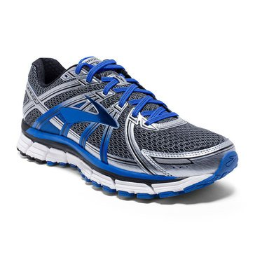 Brooks Adrenaline GTS 17 Men's Running Shoe Anthracite/ Electric Brooks Blue/ Silver