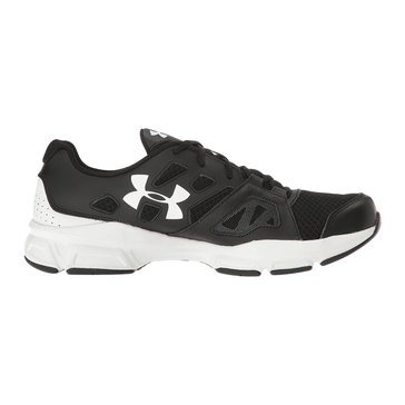 Under Armour Zone 2 Men's Training Shoe Black/ White/ White
