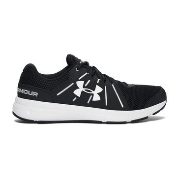 Under Armour Dash 2 Men's Running Shoe Black/ White/ White