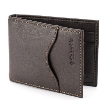 Columbia Men's RFID Front Pocket Wallet - Brown