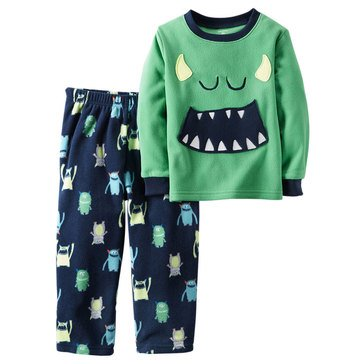 Carter's Baby Boys' 2-Piece Pajamas, Monster