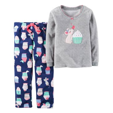 Carter's Baby Girls' 2-Piece Pajamas, More Sweets