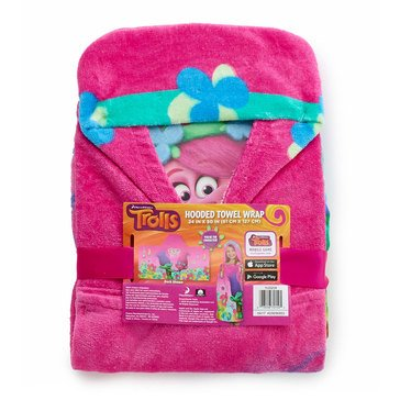 Trolls Hooded Bath Towel
