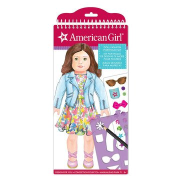 American Girl Doll Fashion Design Sketch Portfolio