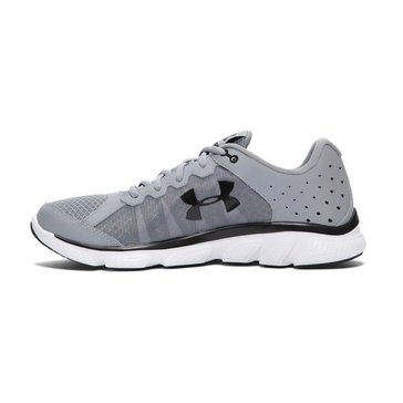 Under Armour Micro G Assert 6 Men's Running Shoe Steel/ White/ Smash Yellow