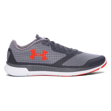 Under Armour Charged Lightning Men's Running Shoe Rhino Gray/ Overcast Gray/ Phoenix Fire