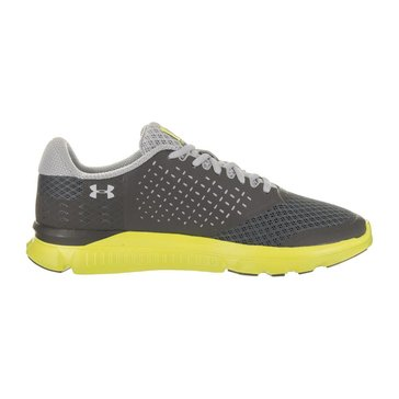 Under Armour Micro G Swift 2 Men's Running Shoe Rhino Gray/ Smash Yellow/ Overcast Gray