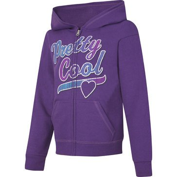 Hanes Big Girls' Pretty Cool Fleece Zip Hoodie, X-Large