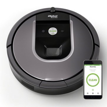 iRobot Roomba 960 Wi-Fi Connected Vacuuming Robot (R960020)