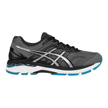 Asics GT-2000 5 Men's Running Shoe Carbon/ Silver/ Island Blue
