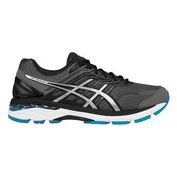 Asics GT-2000 5 (2E) Men's Running Shoe Carbon/ Silver/ Island Blue