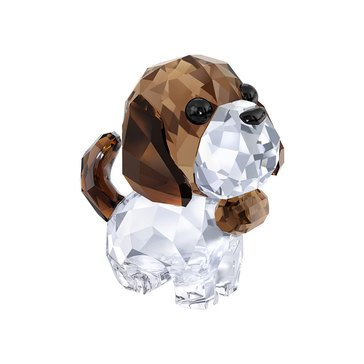 Swarovski Crystal Living Puppy, Bernie The Saint Bernard