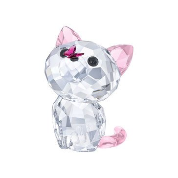 Swarovski Crystal Living Kitten, Millie The American Shorthair