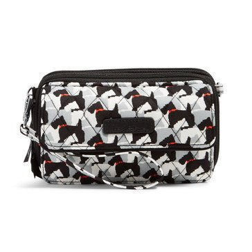Vera Bradley All in One Crossbody for iPhone 6+ Scottie Dogs