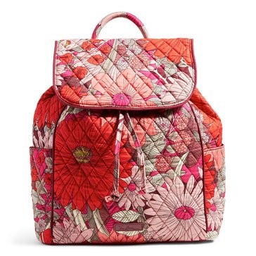 Vera Bradley Drawstring Backpack Bohemian Blooms