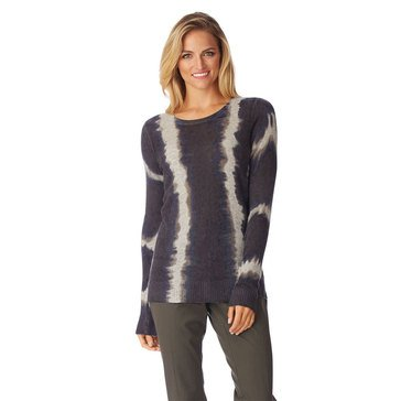Only Mine Cashmere Tie Dye Sweater in Charcoal