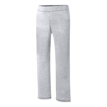 Hanes Big Girls' Grey Fleece Pants, Small
