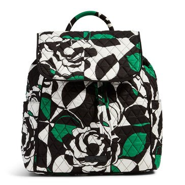 Vera Bradley Drawstring Backpack Imperial Rose