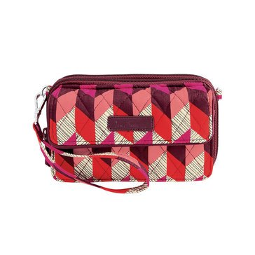 Vera Bradley All In One Crossbody for the Iphone +6 Bohemian Chevron