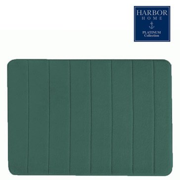 Platinum Collection 21x60 Bath Rug, Teal