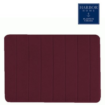 Platinum Collection 21x60 Bath Rug, Merlot