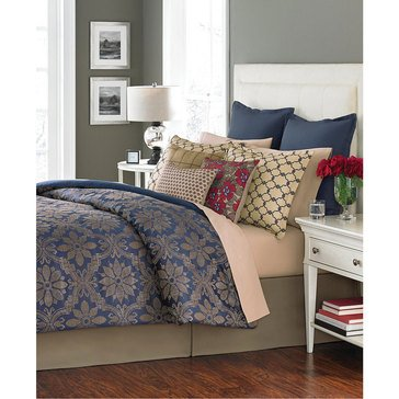 Martha Stewart Collection Rosario 14-Piece Comforter Set - Queen