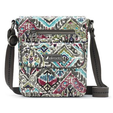 Sakroots Small Flap Messenger State Brave Beauty