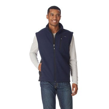 Pacific Trail Softshell Blkd Sweater Navy Fleece Vest