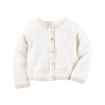 Carter's Baby Girls' Cardigan, Ivory