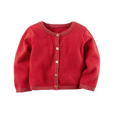 Carter's Baby Girls' Cardigan, Red