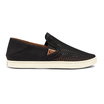 Olukai Pehuea Women's Slip On Sneaker Black/Black