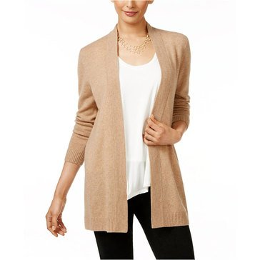 Charter Club Solid Duster Cozy in Heather Camel