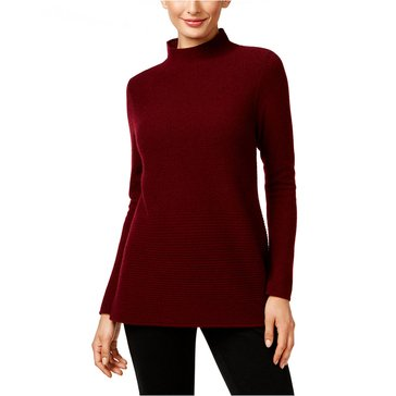 Charter Club Long Sleeve Mock Neck Links Pullover